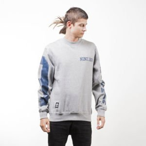 Mass Denim sweatshirt 9 Eight crewneck light heather grey