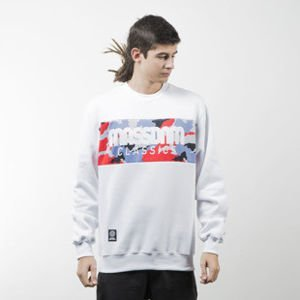 Mass Denim sweatshirt Classics Camo crewneck white