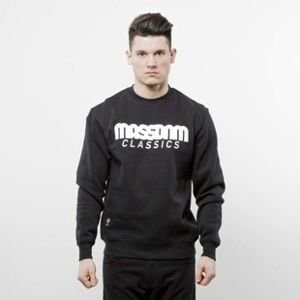 Mass Denim sweatshirt Classics Crewneck black