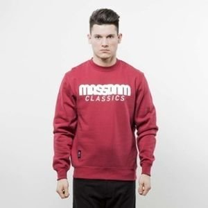 Mass Denim sweatshirt Classics Crewneck claret