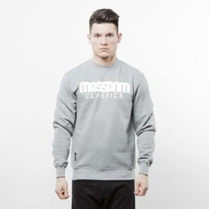 Mass Denim sweatshirt Classics Crewneck light heather grey