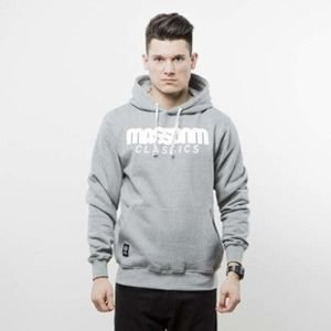 Mass Denim sweatshirt Classics Hoody light heather grey