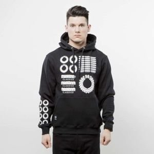 Mass Denim sweatshirt Display Hoody black