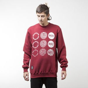 Mass Denim sweatshirt Mind crewneck claret