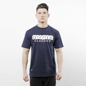 Mass Denim t-shirt Classics navy SS 2017