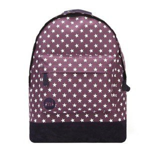 Mi-Pac backpack All Stars plum / navy