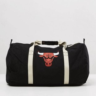 Mitchell & Ness Chicago Bulls Duffle Bag black Team Logo