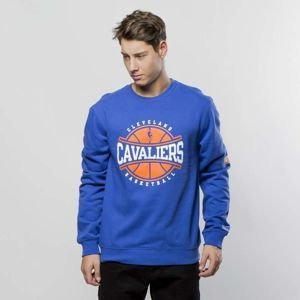 Mitchell & Ness Cleveland Cavaliers Crewneck royal Ball In Play