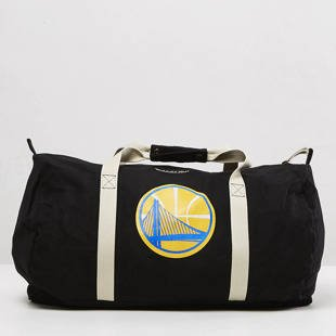 Mitchell & Ness Golden State Warriors Duffle Bag black Team Logo