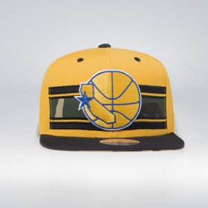 Mitchell & Ness Golden State Warriors Snapback Cap yellow/camo Covert