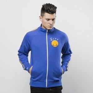 Mitchell & Ness Jacket Golden State Warriors royal Division Champs French Terry