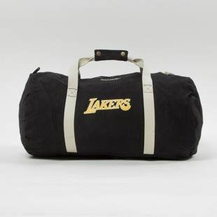 Mitchell & Ness Los Angeles Lakers Duffle Bag black Team Logo