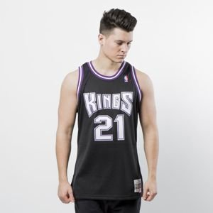 Mitchell & Ness Sacramento Kings #21 Vlade Divac black Swingman Jersey