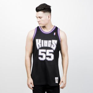 Mitchell & Ness Sacramento Kings #55 Jason Williams black/purple Swingman Jersey