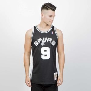 Mitchell & Ness San Antonio Spurs #9 Tony Parker black Swingman Jersey