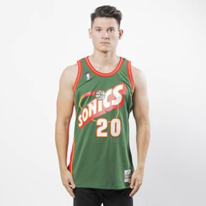 Mitchell & Ness Seattle SuperSonics #20 Gary Payton green Swingman Jersey