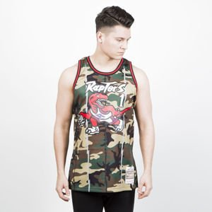 Mitchell & Ness Toronto Raptors #1 Tracy McGrady camo Swingman Jersey