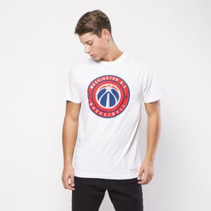 Mitchell & Ness Washington Wizards T-shirt white Circle Patch
