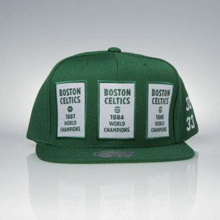 Mitchell & Ness cap snapback Boston Celtics green The 80'S NBA Champions V096Z