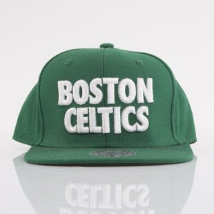 Mitchell & Ness cap snapback Boston Celtics green Title NP59Z