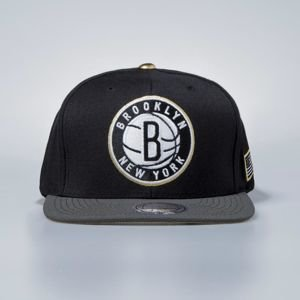Mitchell & Ness cap snapback Brooklyn Nets black Gold Tip