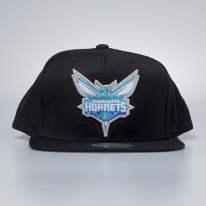 Mitchell & Ness cap snapback Charlotte Hornets black Easy Three Digital XL