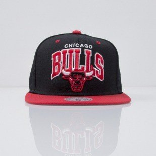 Mitchell & Ness cap snapback Chicago Bulls black Team Arch NA80Z