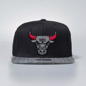 Mitchell & Ness cap snapback Chicago Bulls black Woven TC