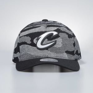 Mitchell & Ness cap snapback Cleveland Cavaliers black Camo Knit 110