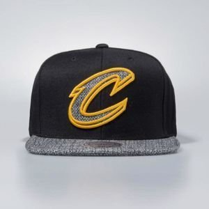 Mitchell & Ness cap snapback Cleveland Cavaliers black Woven TC