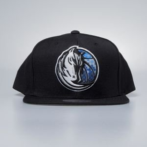 Mitchell & Ness cap snapback Dallas Mavericks black Easy Three Digital XL