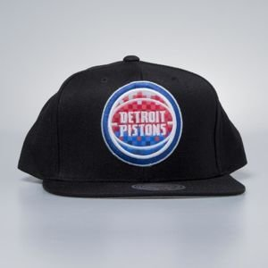 Mitchell & Ness cap snapback Detroit Pistons black Easy Three Digital XL