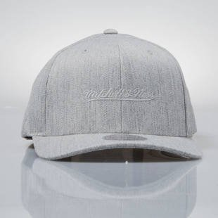 Mitchell & Ness cap snapback M&N Logo grey heather  EU889 FLEXFIT 110