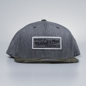 Mitchell & Ness cap snapback M&N Own Brand charcoal / camo Trench 110