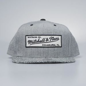 Mitchell & Ness cap snapback M&N Own Brand grey / black Elephant Crack