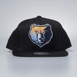 Mitchell & Ness cap snapback Memphis Grizzlies black Easy Three Digital XL