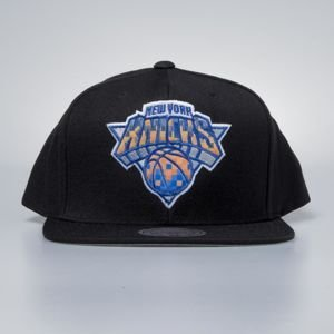 Mitchell & Ness cap snapback New York Knicks black Easy Three Digital XL