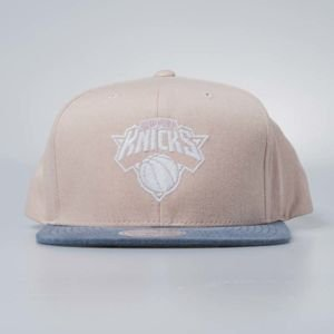 Mitchell & Ness cap snapback New York Knicks rustico Washed Twill 2Tone
