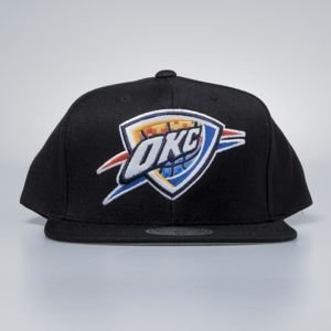 Mitchell & Ness cap snapback Oklahoma City Thunder black Easy Three Digital XL
