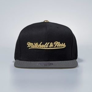 Mitchell & Ness cap snapback Own Brand black Gold Tip
