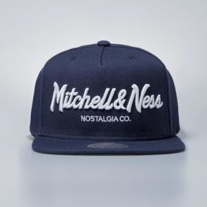 Mitchell & Ness cap snapback Own Brand navy Pinscript