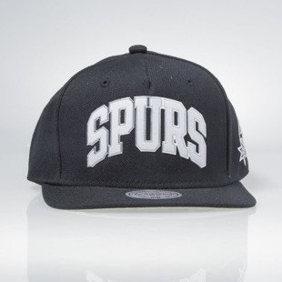 Mitchell & Ness cap snapback San Antonio Spurs black BLACKED OUT SONIC EU179