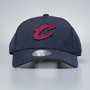 Mitchell & Ness cap strapback Cleveland Cavaliers navy Heather Low Pro