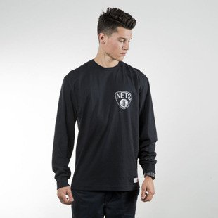 Mitchell & Ness longsleeve Brooklyn Nets black ONE DECK