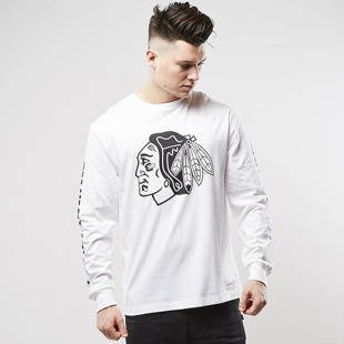 Mitchell & Ness longsleeve Chicago Blackhawks white Goal Tender