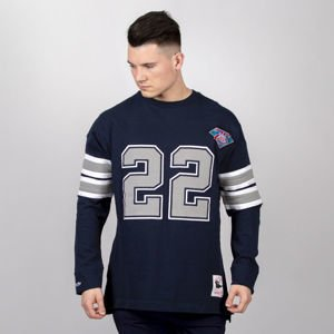 Mitchell & Ness longsleeve Dallas Cowboys navy Name & Number LS