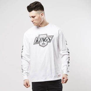 Mitchell & Ness longsleeve Los Angeles Kings white Goal Tender