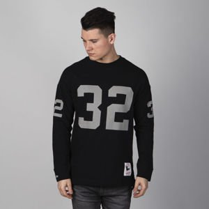 Mitchell & Ness longsleeve Los Angeles Raiders black Name & Number LS