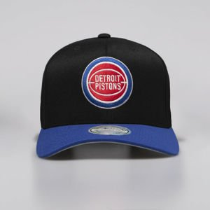Mitchell & Ness snapback Detroit Pistons black / royal 2 Tone 110