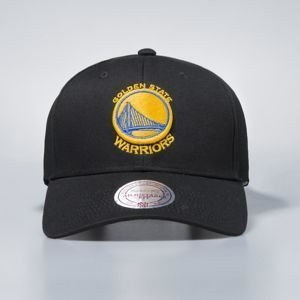 Mitchell & Ness snapback Golden State Warriors black Team Logo Low Pro